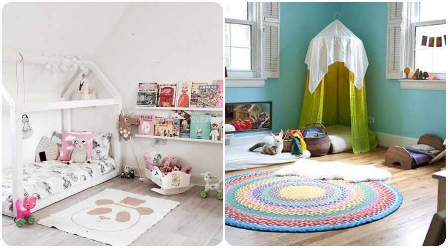 C mo decorar una habitaci n seg n la pedagog a montessori for Como decorar un cuarto infantil