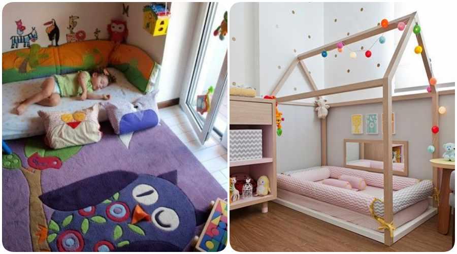 Decoraciones de habitaciones Montessori