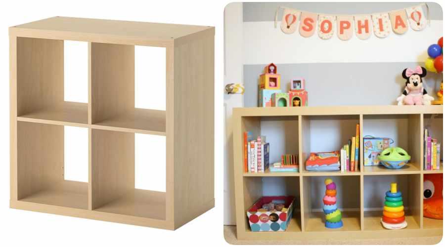 Montessori en casa crea una habitaci n infantil con - Libreria infantil ikea ...