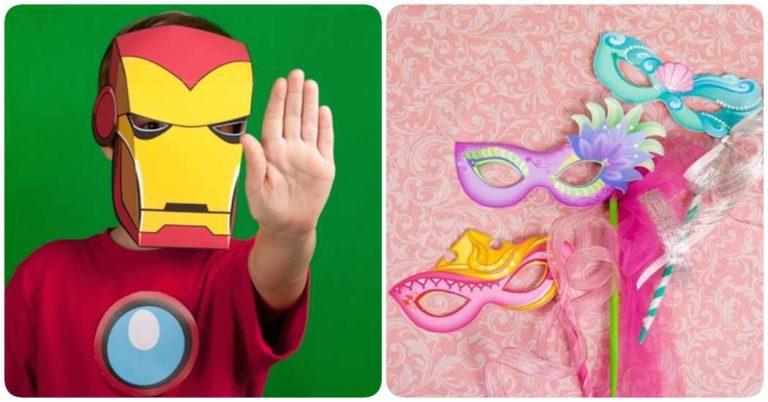 Descarga gratis máscaras de carnaval
