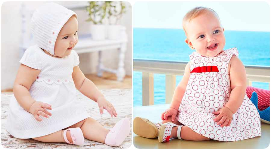 Vestidos de bebé, Mayoral