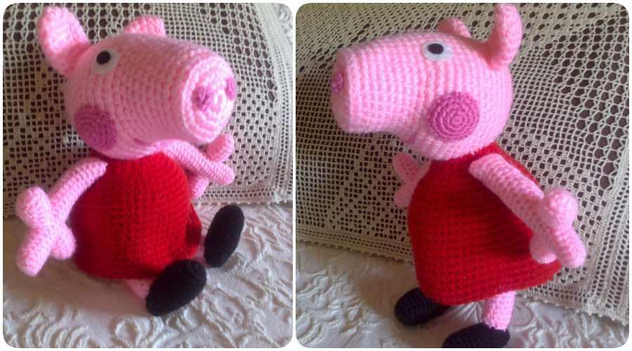 Cómo hacer amigurumis de Peppa Pig