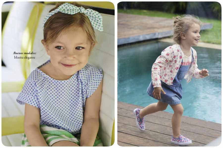 Moda infantil de Benetton verano 2016