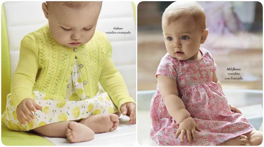 Vestidos de Benetton bebé 2016