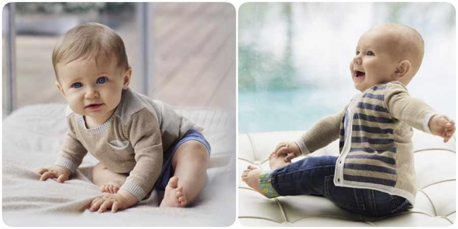 Moda infantil de Benetton Bebés