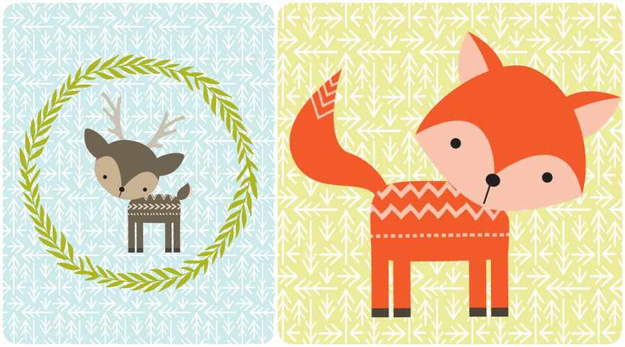 L minas para cuadros de animales gratis - Laminas decorativas para pared ...