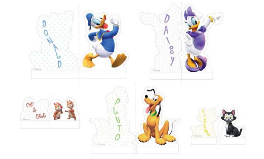 Recortables Disney para descargar e imprimir gratis