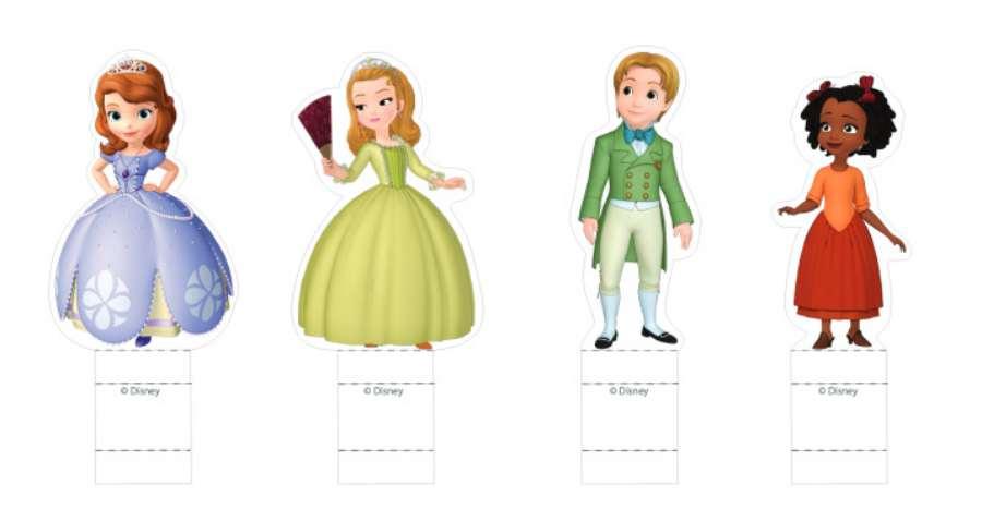Princesas Disney: 6 Recortables Para Imprimir Gratis