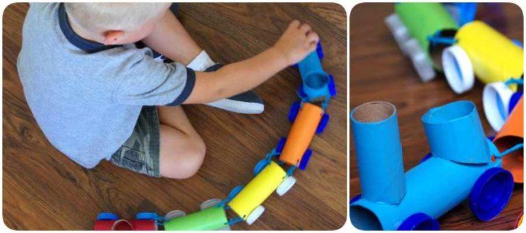 Manualidades con rollos de papel higiénico fáciles