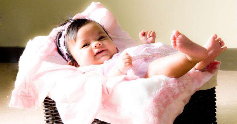 Desarrollo del bebé 4 meses