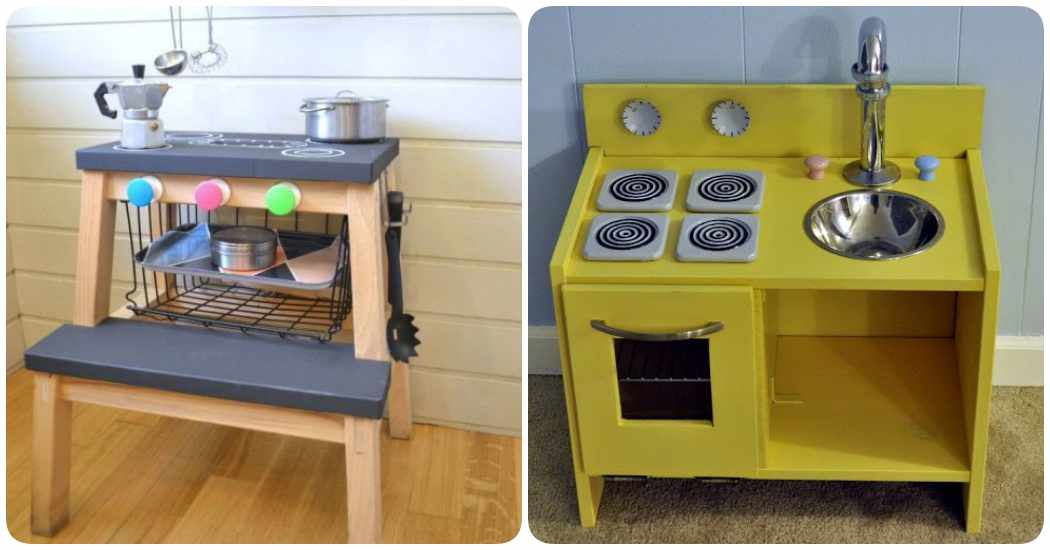 Cocinitas de juguete 4 ikea hacks for Muebles infantiles ikea