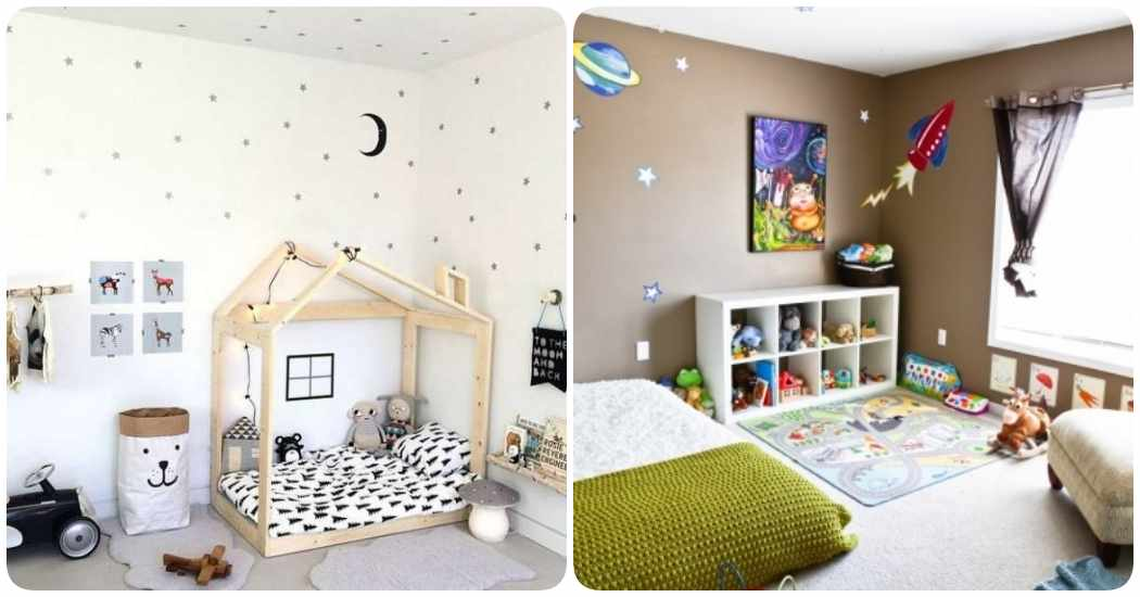 Montessori en casa crea una habitaci n infantil con - Habitacion para 2 ninos ...