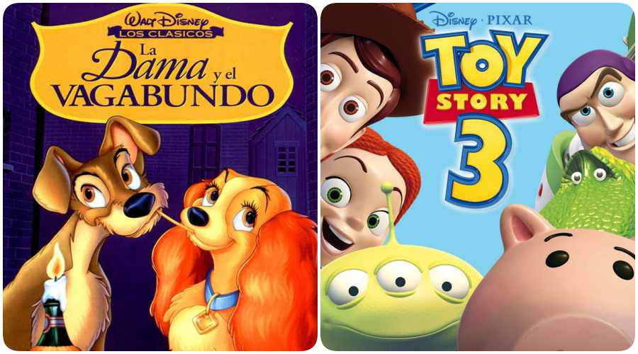 Ranking de películas Disney