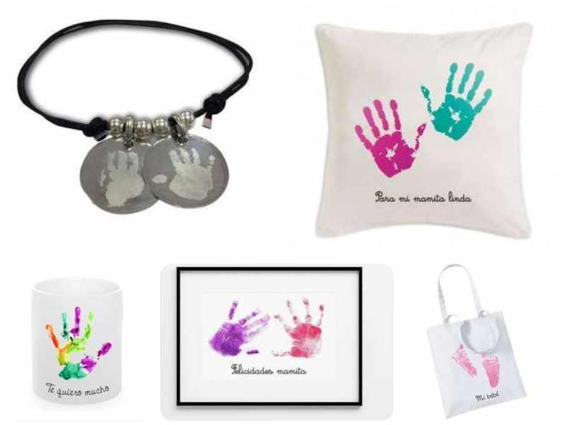 Día de la Madre: regalos con huellas de los peques