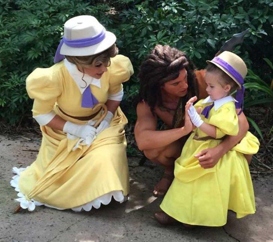 Disfraces Disney: disfraz de Jane de Tarzán