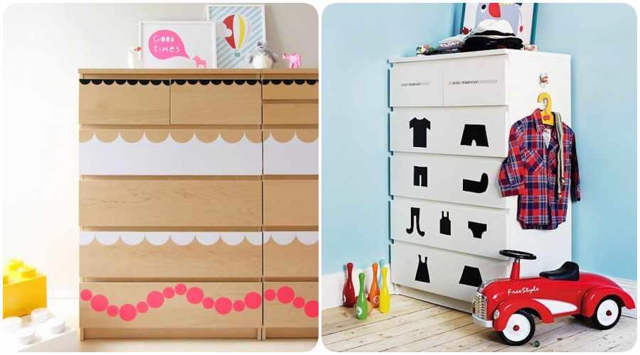 Ikeando la habitaci n del beb decoraci n original con - Comodas de bebe ikea ...