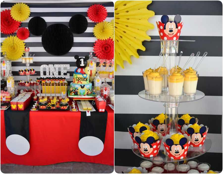 Ideas para fiestas infantiles de Mickey Mouse