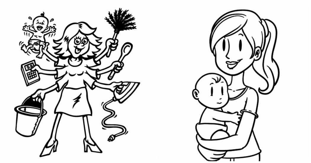 9 dibujos para el Dia de la Madre | Menudosbebes.com