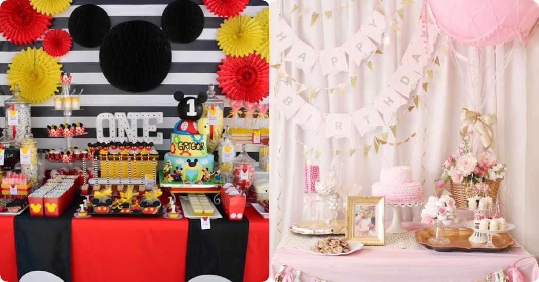 Ideas para cumplea os de 1 a o c mo decorar fiestas infantiles - Decoraciones originales para casas ...