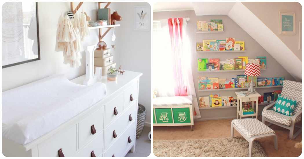 Ikeando la habitaci n del beb decoraci n original con - Dormitorios bebe ikea ...