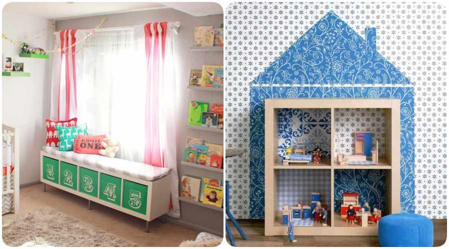Ikeando la habitaci n del beb decoraci n original con for Cuartos infantiles ikea
