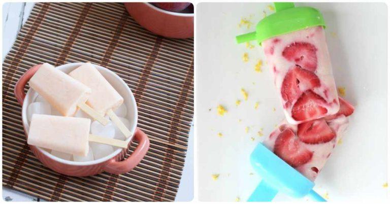Polos: helados caseros saludables