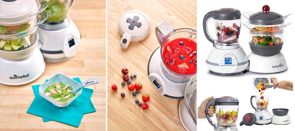 Robot de cocina babymoov nutribaby 5 funciones en 1 solo for Robot de cocina para bebes