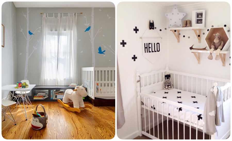 8 habitaciones para beb s modernas y dulces - Habitaciones bebe pequenas ...