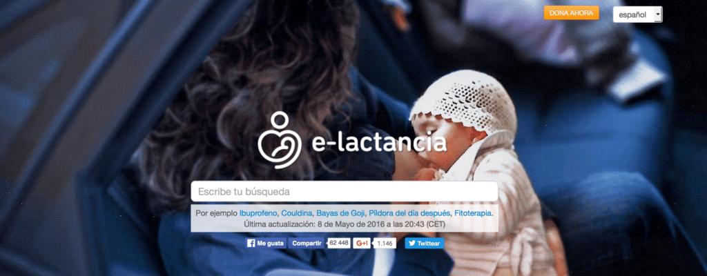 Compatibilidad de medicamentos y lactancia materna en e-lactancia
