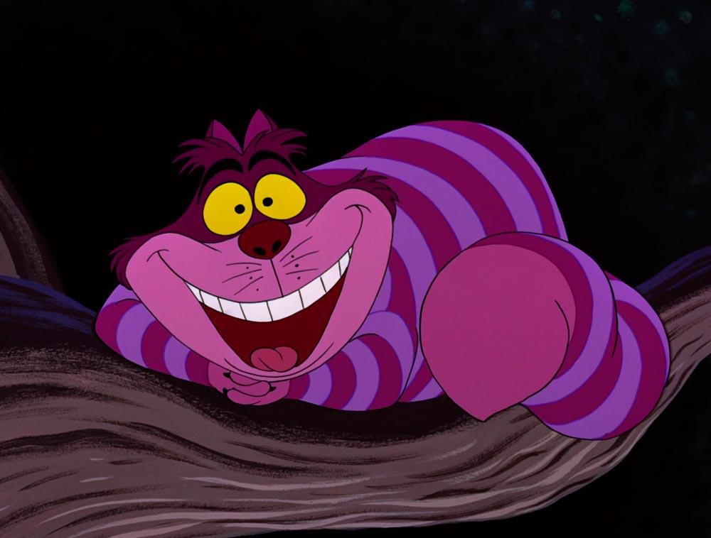 gato Cheshire cuento Alicia