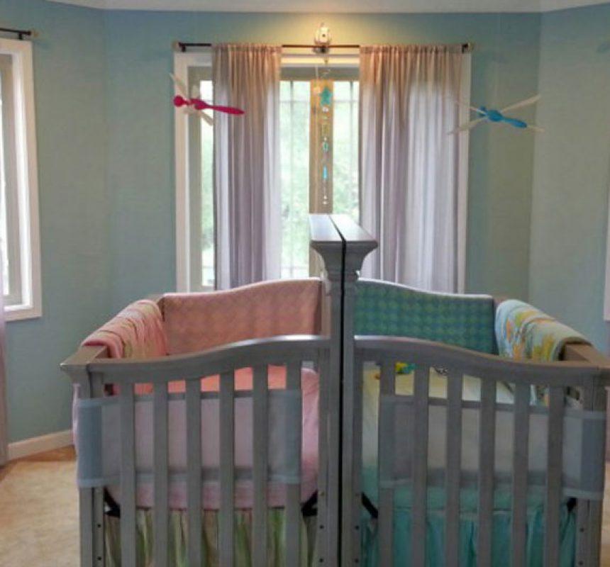a30a37e90 Cómo decorar habitaciones para gemelos - Menudos Bebés