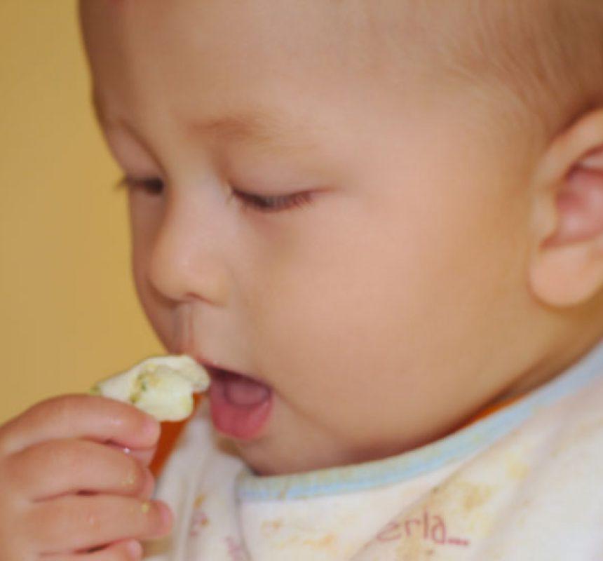 Introducción del huevo en la alimentación del bebé
