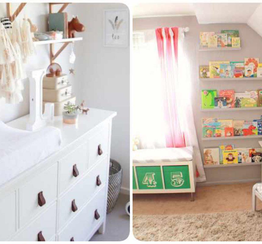 Decoración de habitaciones de bebés con Ikea