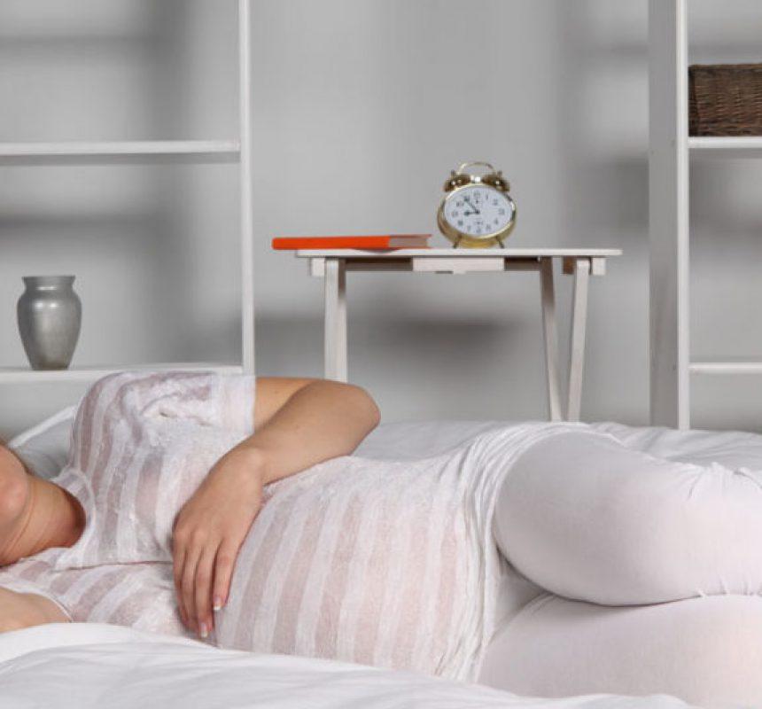 Cambios en el sueño en el embarazo